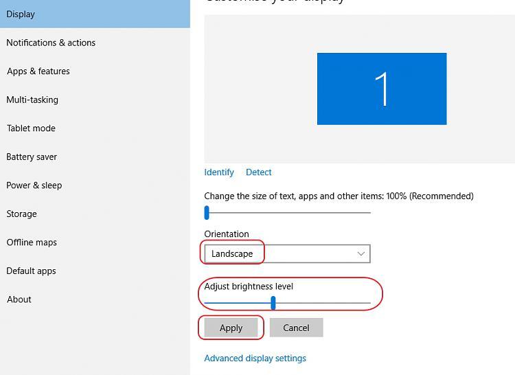 No Option To Change Brightness Windows 10 Forums
