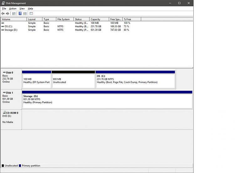 Click image for larger version.  Name:Disk Management.jpg Views:3 Size:116.9 KB ID:69496