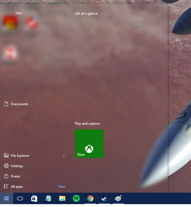 Click image for larger version.  Name:startmenu.png Views:1 Size:284.2 KB ID:69651