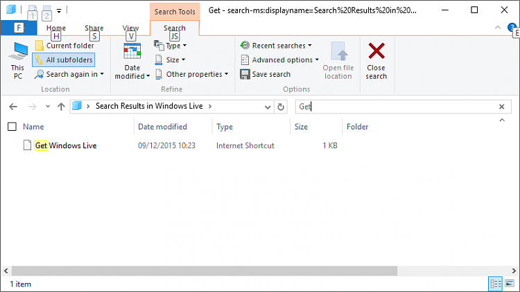 File Explorer Search: Results not opening-after-search.png