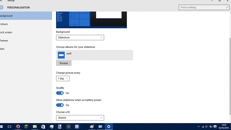 unable to select use battery power with slideshows-dss.png