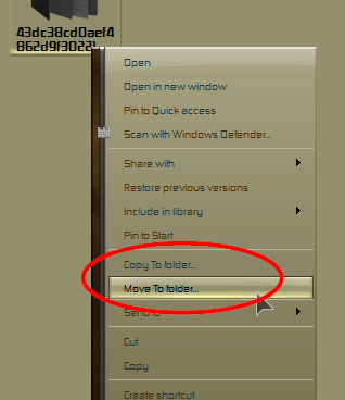 Cursor icon blocking view of folders during move-000003.png