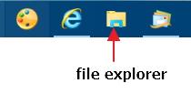 Click image for larger version.  Name:file explorer at taskbar.jpg Views:18 Size:13.8 KB ID:80301