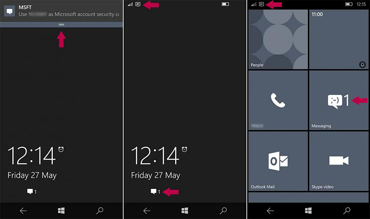 Windows Phone 10 - Notifications Solved - Windows 10 Forums