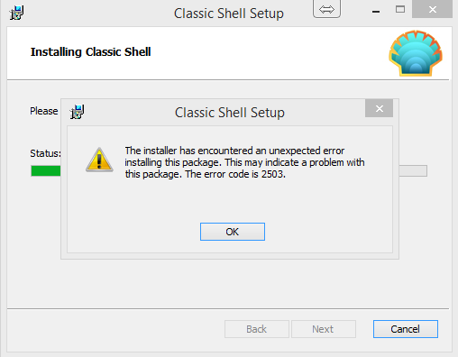 Click image for larger version.  Name:ClassicShell1.png Views:46 Size:17.9 KB ID:8511