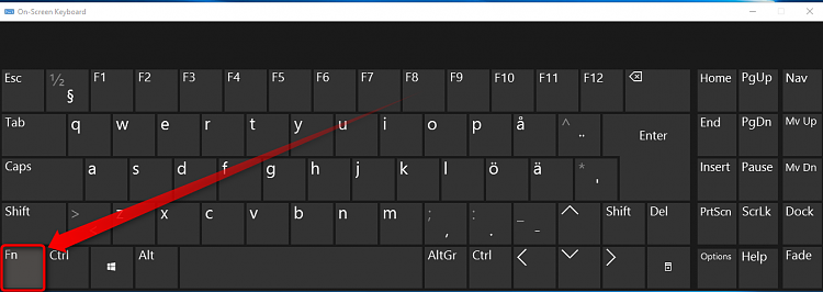 Function keys performing the wrong function Solved - Windows 10 Forums