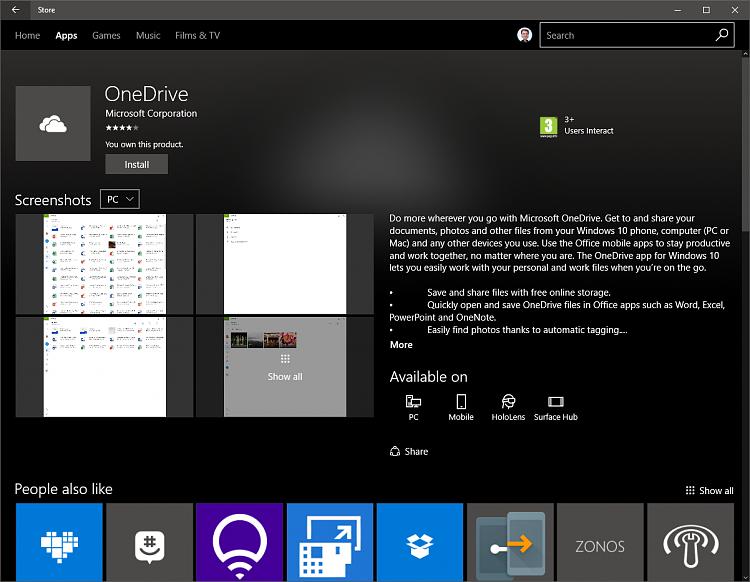 Empty folder message for non-empty folder by Windows 10 - Windows 10