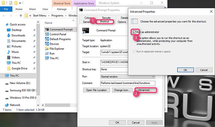 Windows 10 post install tips or bugs-cmd-admin.png