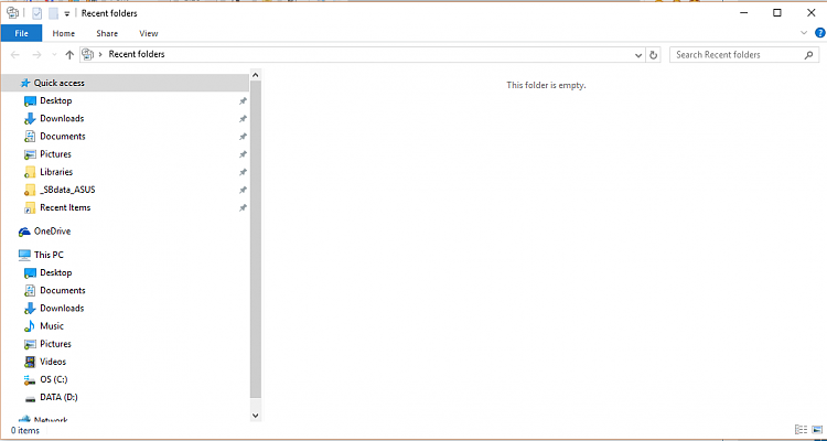 File Explorer Quick Access has Recent Folders pinned but it vanishes..-recent-folders1.png