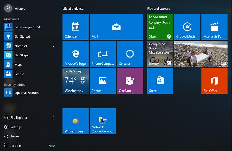 Click image for larger version.  Name:Windows-10-start-menu.png Views:2 Size:174.0 KB ID:88213