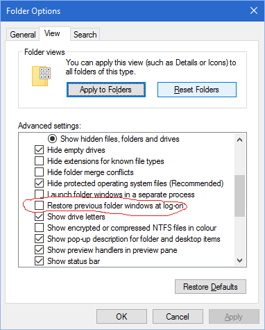 File explorer automatically starts at startup. I do not want this.-2016-07-07.png