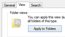 "Want to change  File Explorer default View from ""Details"" to ""List""-optsfolder.png"