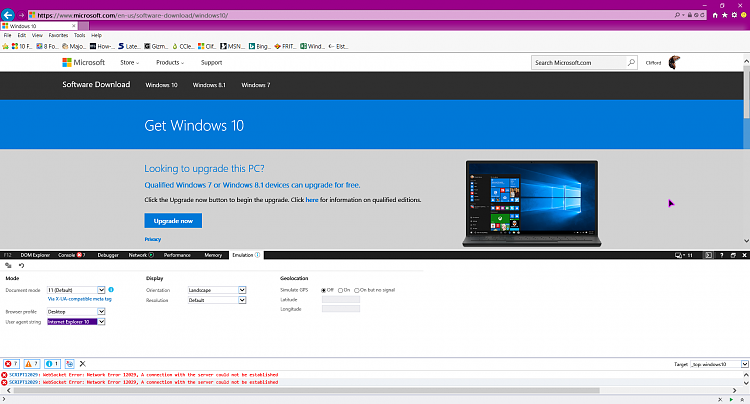 blank windows 10 download pages  solved