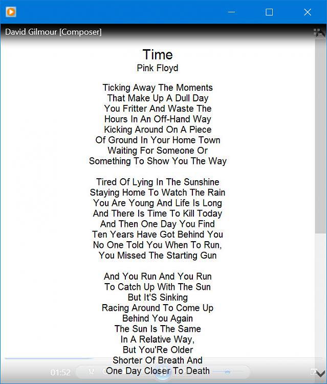 Lyrics lrc file download.