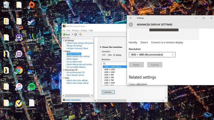 Everything is huge but at 1080p resolution Solved - Windows 10 Forums