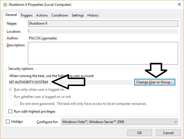 Task Scheduler Error: One or more specified arguments not valid-win10-errorsolved.png