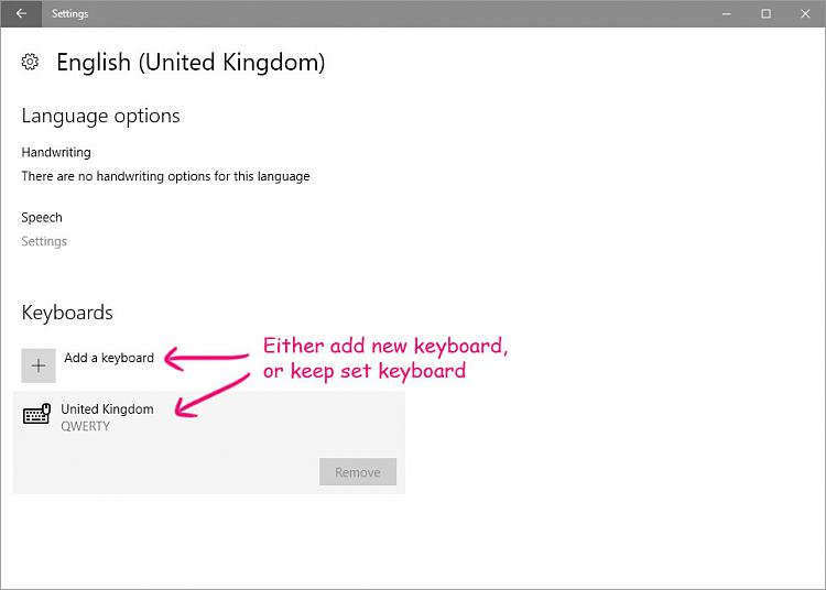 how to add language input metod in windows 10