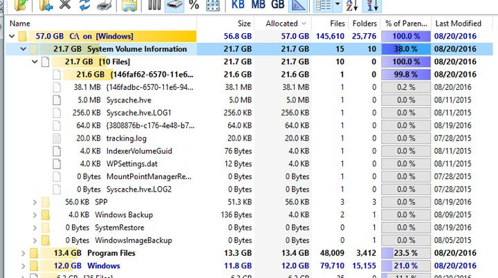 Click image for larger version.  Name:System Volume Information 660s.jpg Views:3 Size:137.8 KB ID:97411