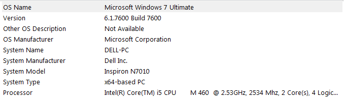 If i install Windows 10 would it lag? (I have 60 gb left)-specs.png
