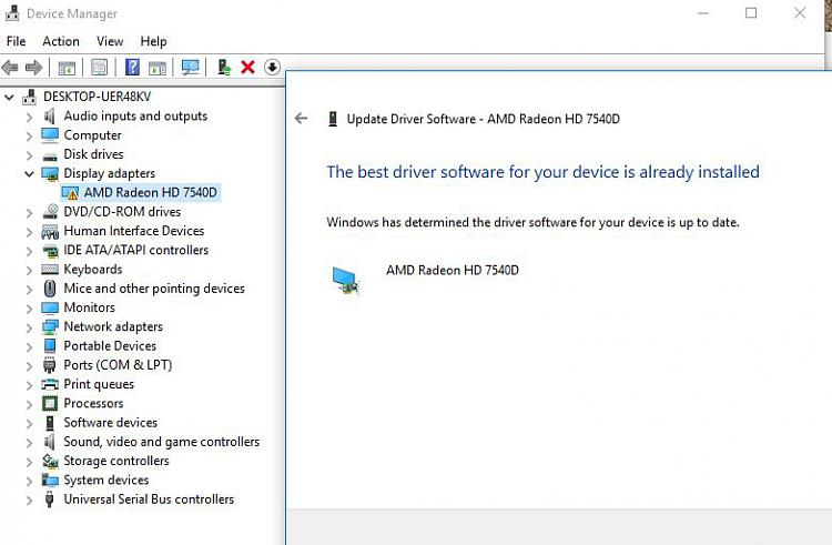 amd driver crashed and recovered windows 10