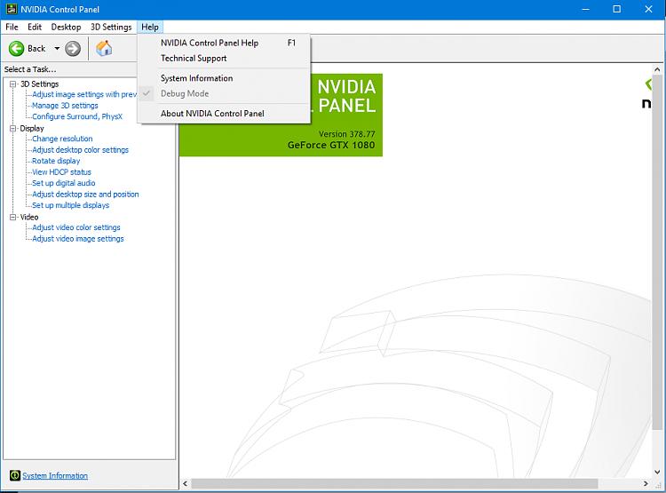 Graphics Driver Nvidia Windows 10