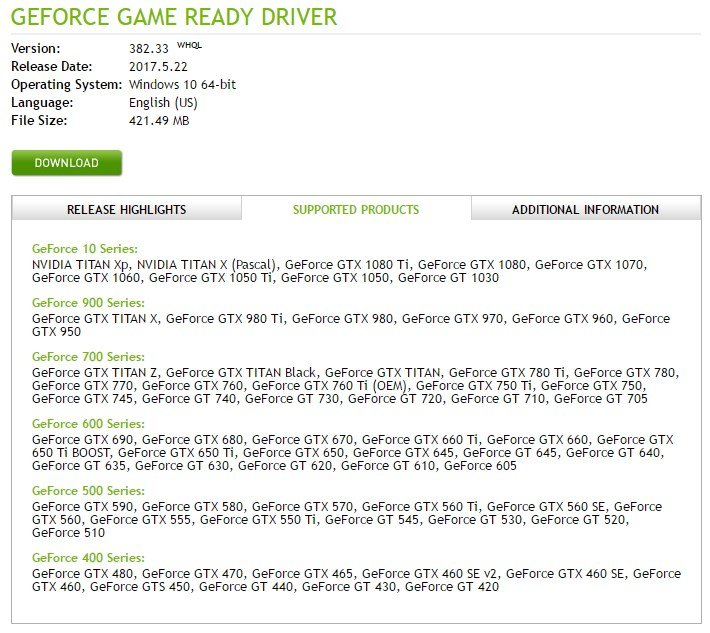 Latest NVIDIA GeForce Graphics Drivers for Windows 10 - Page 69