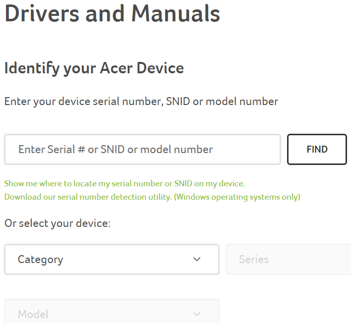 acer driver download utility license key