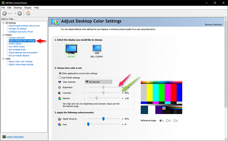 How Do I Control Monitor's Control Panel from W/in Win 10?-ncp-color.png