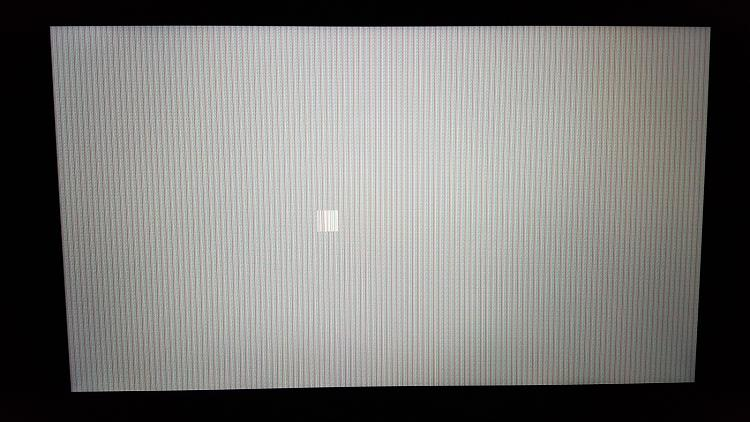 White screen with vertical lines after sleep mode Solved - Windows