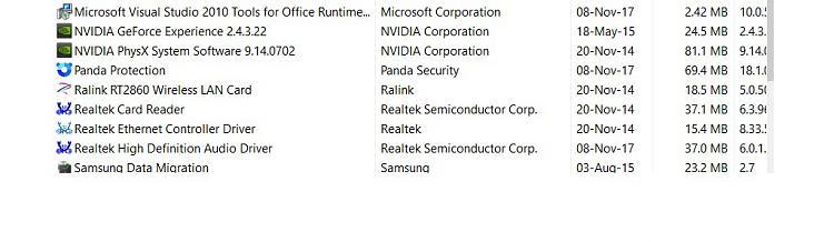 Click image for larger version.  Name:NVidia Programs.jpg Views:1 Size:91.6 KB ID:164392