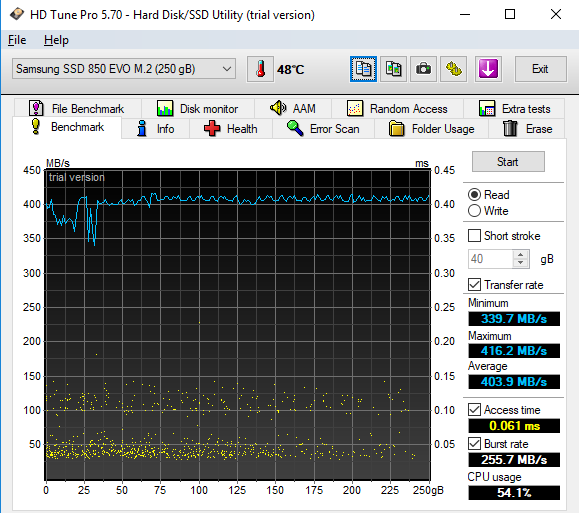 Click image for larger version.  Name:HD Tune Benchmark.png Views:23 Size:34.1 KB ID:168506