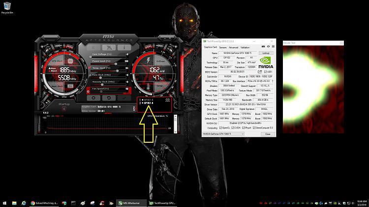 1080 Ti SLI setup and MSI Afterburner - Windows 10 Forums