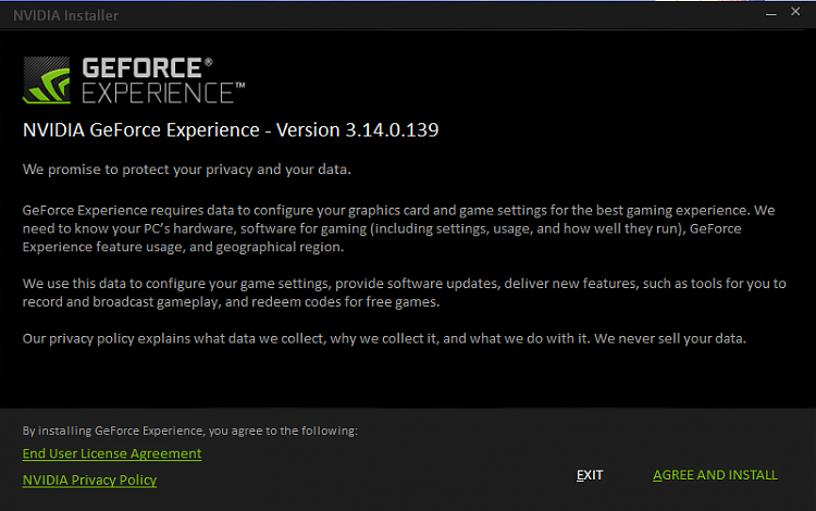 Latest NVIDIA GeForce Graphics Drivers for Windows 10 - Page 109