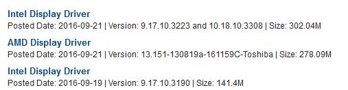 intel hd graphics 4000 windows 10 1709