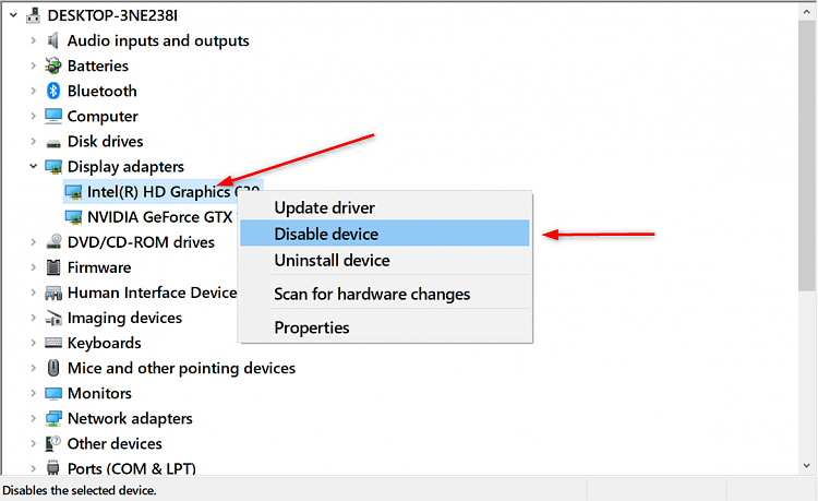 When using Nvidia GPU shoiuld I disable mobo onboard graphics Solved -  Windows 10 Forums