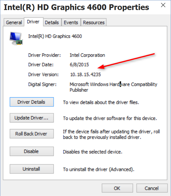 Intel Hd Graphics 4600 Driver Download Windows 8.1