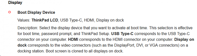 Will a USB-C /Thunderbolt Connected Monitor Work During POST?-image.png