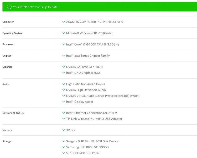 Error updating Intel HD VGA driver & NVIDIA STUDIO drivers