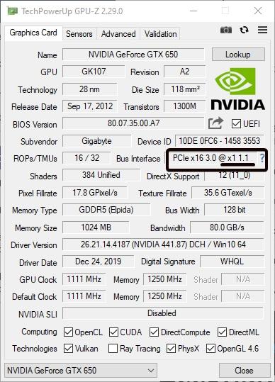 GPU in 16x slot but GPU-Z reports running at x1 speed?-gpu-z_2020-01-28_12-26-44.jpg