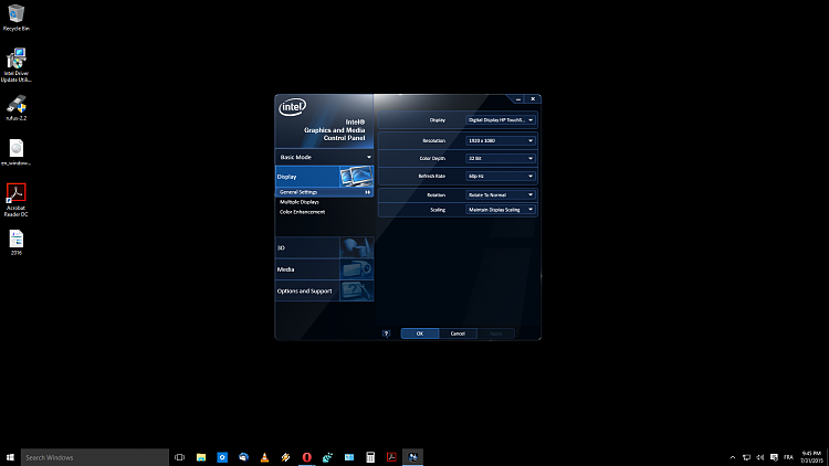 Intel HD Graphics driver not able to install Solved - Page 2