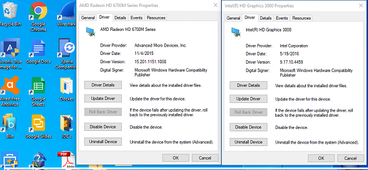 Intel HD Graphics 3000+AMD 7690M XT driver for W10,no such one,help-whileamd.png