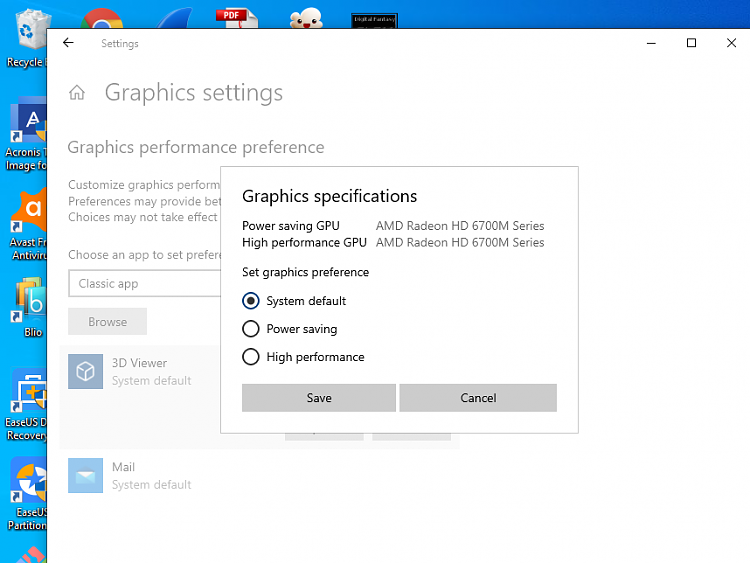 Intel HD Graphics 3000+AMD 7690M XT driver for W10,no such one,help-whileamd2.png