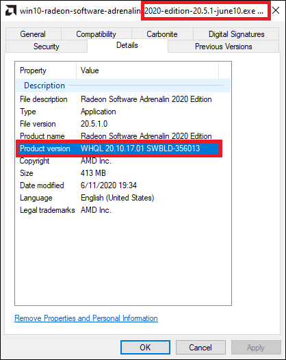 Latest AMD Radeon Graphics Driver for Windows 10-amd-20.5.1-june-10-driver.png