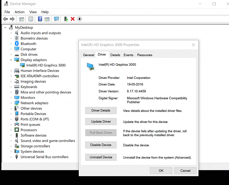 Intel HD Graphics 3000+AMD 7690M XT driver for W10,no such one,help-1.png