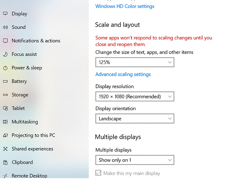 Why win 10 display scaling is disabled-displaysetting.png