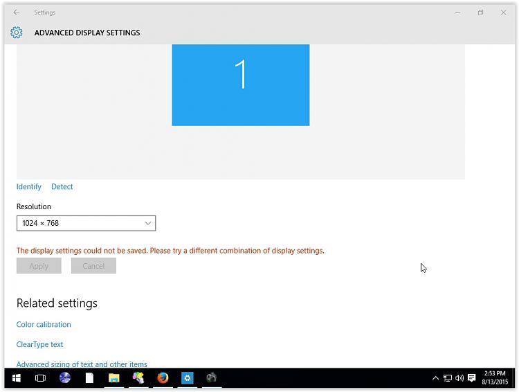 Displayport Switchbox / resolution problem? - Windows 10 Forums