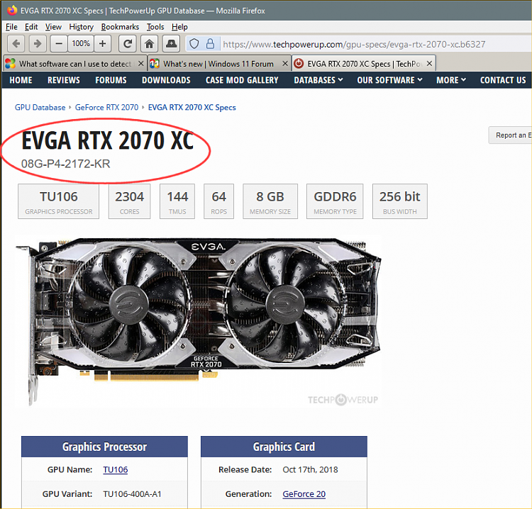 What software can I use to detect the specific model of the video card-image1.png