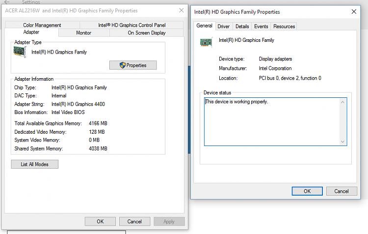 Screen Resolution Strange Since Upgrade to 10 - Windows 10 Forums
