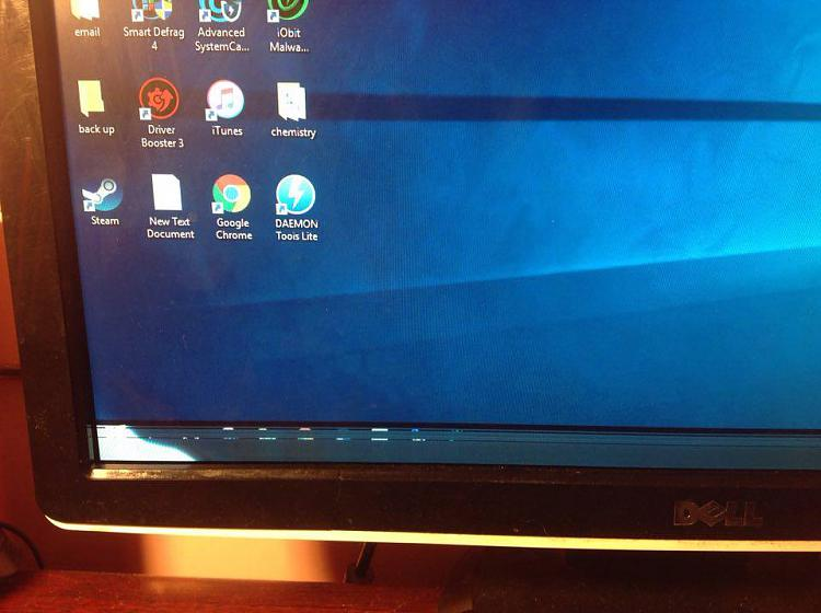 display cut off at bottom of the screen  taskbar