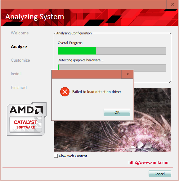 Click image for larger version.  Name:AMD Error (Safe Mode).png Views:25 Size:153.4 KB ID:81029